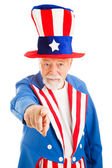 Uncle Sam Wants You — 图库照片