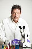 Portrait of Scientist in Lab — Stock Photo