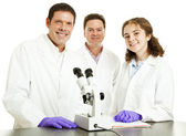 Science Group - Happy — Stock Photo