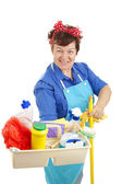 Maid At Your Service — Stock Photo