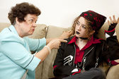 Mother Daughter Conflict — Stock Photo