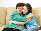 Mother Daughter Love — Stock Photo