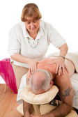 Therapeutic Massage — Stock Photo
