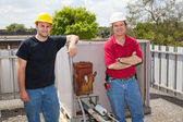 Air Conditioning Repairmen — Stock Photo