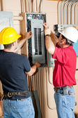 Electrical Breaker Panel Repair — Stock Photo