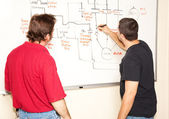 Electrical Engineering Class — Stock Photo