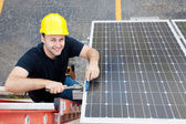 Green Jobs - Renewable Resources — Stock Photo