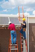 Solar Energy Installation — Stock Photo