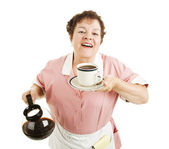 Aroma of Fresh Coffee — Stock Photo