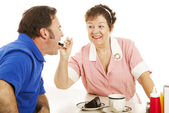 Have Some Cake Sweetie — Stock Photo