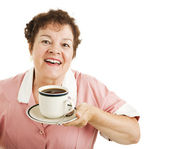 Mmmm Good Coffee — Stock Photo