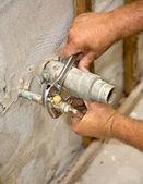 Plumbing Closeup — Stock Photo