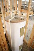 Aquecedor de água instalado — Foto Stock