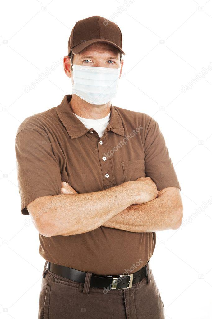 Если мужчина одел маску