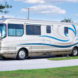 Stock Photo: Luxury Motor Home