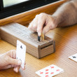 Playing Cribbage — Foto de Stock