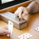 Playing Cribbage — Stock Photo