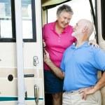 RV Senior Couple in Love — Stock Photo #6555212