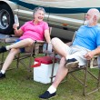 RV Seniors - Camping Fun — Stock Photo #6555231