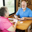 Stock Photo: RV Seniors - Card Game