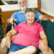 RV Seniors - Channel Surfing — Stock Photo #6555235