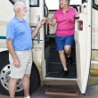 RV Seniors - Chivalry — Stock Photo #6555237