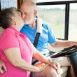 Stock Photo: RV Seniors - Driving Distractions