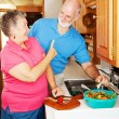 RV Seniors - No Snacking — Stock Photo #6555274