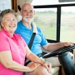 RV Seniors - On the Road — Stock Photo #6555276