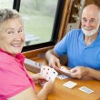 RV Seniors - Playing Cards — Stock Photo #6555278