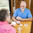 RV Seniors - Playing Cribbage — Stock Photo #6555279