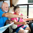 RV Seniors - Point the Way — Stock Photo #6555280