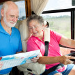 Royalty-Free Stock Photo: RV Seniors - Where To?