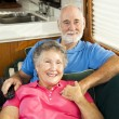 Relaxing in the RV — Stock Photo