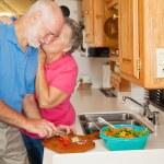 Seniors RV - Thanks for Helping — Stock Photo
