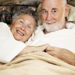 Sleepy Seniors — Stock Photo