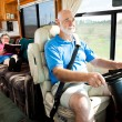Travel by Motor Home — Stock Photo
