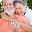 Loving Senior Couple — Stock Photo