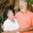 Senior Couple - Good Relationship — Stock Photo