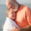 Senior Couple - Love and Tenderness — Stock Photo