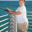 Royalty-Free Stock Photo: Senior Fishing Fun