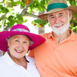 Sweet Senior Couple — Stock Photo #6555674