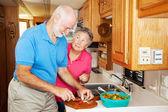 RV Seniors - Thanks for Helping — Stock Photo