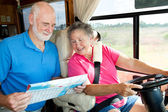 RV Seniors - Where To? — Stock Photo