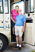 Senior Travelers in RV — Stock Photo