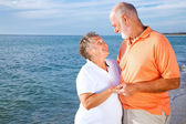 Senior Couple - Romatic Vacation — Stock Photo