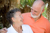 Senior Couple in Love — Stock Photo