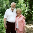 Royalty-Free Stock Photo: Active Senior Couple
