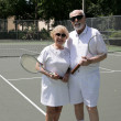 Active Seniors in Shades — Stock Photo