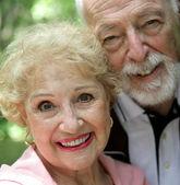 Senior Woman & Husband — Stock Photo